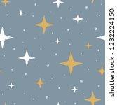 cute scandinavian seamless... | Shutterstock .eps vector #1232224150