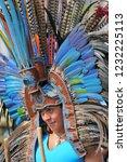 october 30  2010. an aztec... | Shutterstock . vector #1232225113