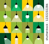 collection light bulb icons set | Shutterstock .eps vector #1232232286