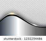 background metal design over... | Shutterstock .eps vector #1232254486