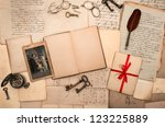 Open Book  Antique Accessories  ...