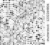 the texture of halftone black... | Shutterstock .eps vector #1232264806