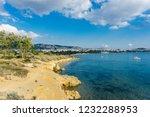the aegean sea view  saronic...   Shutterstock . vector #1232288953