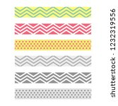 scotch with geometric pattern.... | Shutterstock .eps vector #1232319556
