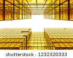 low angle view of modern... | Shutterstock . vector #1232320333