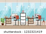 office work workplace workspace ... | Shutterstock .eps vector #1232321419