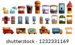 coffee street stall kiosk icon... | Shutterstock .eps vector #1232331169