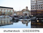 london  uk   march 2018  yachts ... | Shutterstock . vector #1232333596
