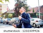 young business man allways work   Shutterstock . vector #1232339926