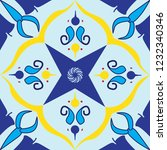 colorful royal pattern. the... | Shutterstock .eps vector #1232340346