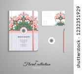 set of notebook  pencil  tag... | Shutterstock .eps vector #1232351929