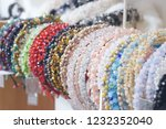 costume jewelry headbands ... | Shutterstock . vector #1232352040