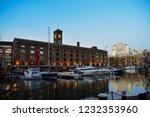 london  uk   march 2018  yachts ... | Shutterstock . vector #1232353960