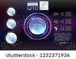 collagen solution drop ...   Shutterstock . vector #1232371936