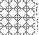 cross stitch  seamless... | Shutterstock .eps vector #1232372650