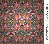 elegant seamless pattern with... | Shutterstock .eps vector #1232374819