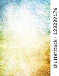 grain yellow   white   blue... | Shutterstock . vector #123239176