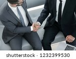 handshake manager and the... | Shutterstock . vector #1232399530