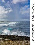 pointe des chateaux  grande... | Shutterstock . vector #1232406979