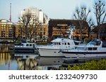london  uk   march 2018  yachts ... | Shutterstock . vector #1232409730
