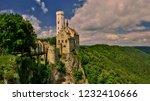 lichtenstein castle  located in ... | Shutterstock . vector #1232410666
