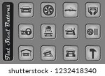 car services vector web icons... | Shutterstock .eps vector #1232418340