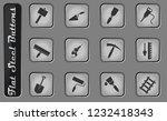 building equipment vector web... | Shutterstock .eps vector #1232418343
