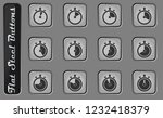 timer simply vector web icons... | Shutterstock .eps vector #1232418379