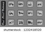 construction machines vector... | Shutterstock .eps vector #1232418520