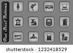 kitchen utensils vector web... | Shutterstock .eps vector #1232418529