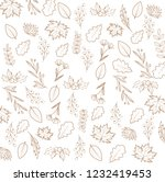 floral background simple | Shutterstock .eps vector #1232419453