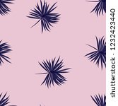 tropical seamless pattern with... | Shutterstock .eps vector #1232423440