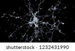 water splash. 3d rendering   Shutterstock . vector #1232431990