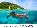 Underwater Portrait Of A Woman...