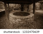 Abandoned Well In The Forest....