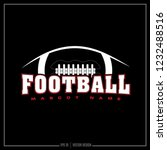 american football  sport design ... | Shutterstock .eps vector #1232488516