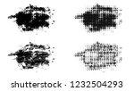set of brush stroke and... | Shutterstock . vector #1232504293