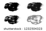 set of brush stroke and... | Shutterstock . vector #1232504323