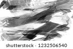 brush stroke and texture.... | Shutterstock . vector #1232506540