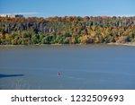 beautiful autumn landscape of... | Shutterstock . vector #1232509693