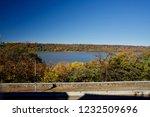 beautiful autumn landscape of... | Shutterstock . vector #1232509696