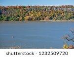 beautiful autumn landscape of... | Shutterstock . vector #1232509720