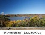 beautiful autumn landscape of... | Shutterstock . vector #1232509723