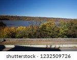 beautiful autumn landscape of... | Shutterstock . vector #1232509726
