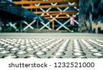 close up of metal tactiles.... | Shutterstock . vector #1232521000