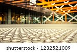 close up of metal tactiles.... | Shutterstock . vector #1232521009