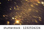brilliant gold background with... | Shutterstock . vector #1232526226