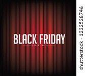 black friday super sale... | Shutterstock .eps vector #1232528746