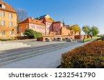 warsaw  mazovian province  ... | Shutterstock . vector #1232541790