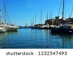 blue sea water in a sunny day....   Shutterstock . vector #1232547493